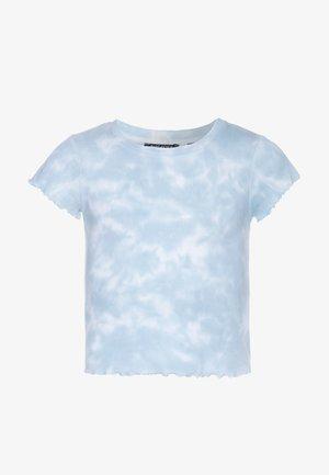 T-shirt imprimé - hellblau