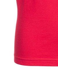 Blue Seven - 3 PACK - T-shirt basique - weiß/hochrot/azalee - 5