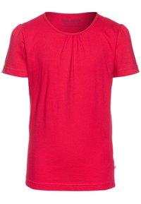 Blue Seven - 3 PACK - T-shirt basique - weiß/hochrot/azalee - 3