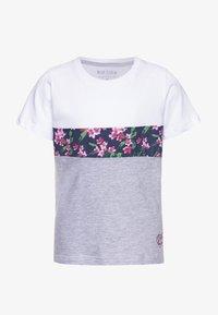 Blue Seven - Print T-shirt - weiß - 0