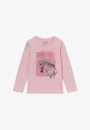 KIDS HORSE - Langærmede T-shirts - rosa