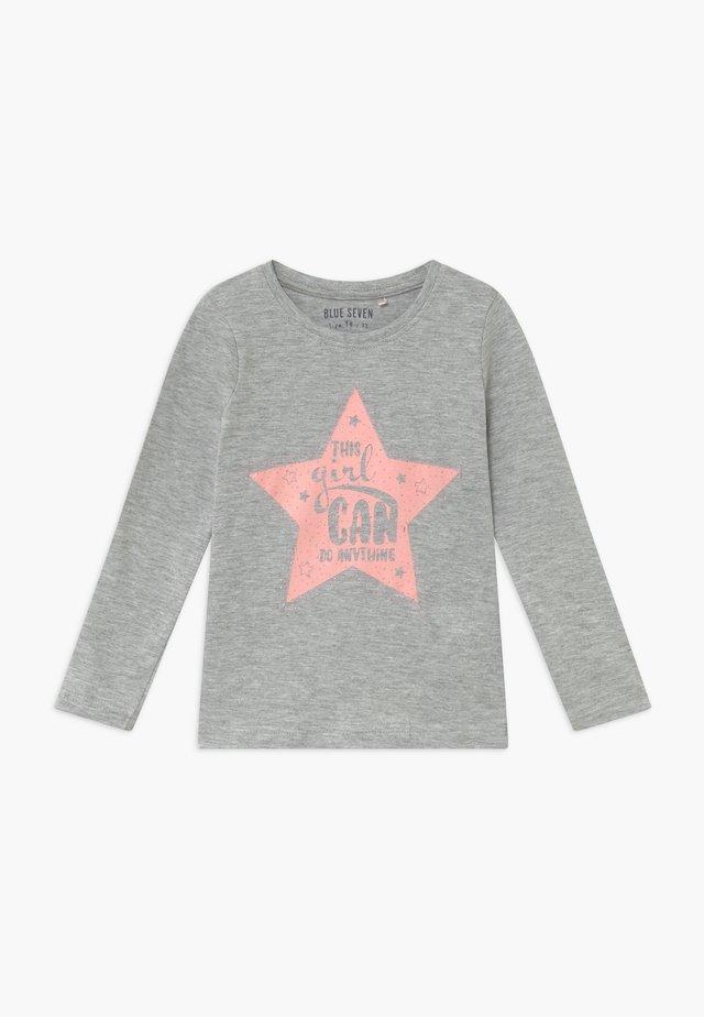 KIDS GIRLS CAN DO ANYTHING - Langarmshirt - grey