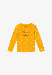 Blue Seven - KIDS GIRLS CAN DO ANYTHING FLORAL - Long sleeved top - dotter - 2
