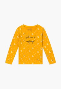 Blue Seven - KIDS GIRLS CAN DO ANYTHING FLORAL - Long sleeved top - dotter - 0