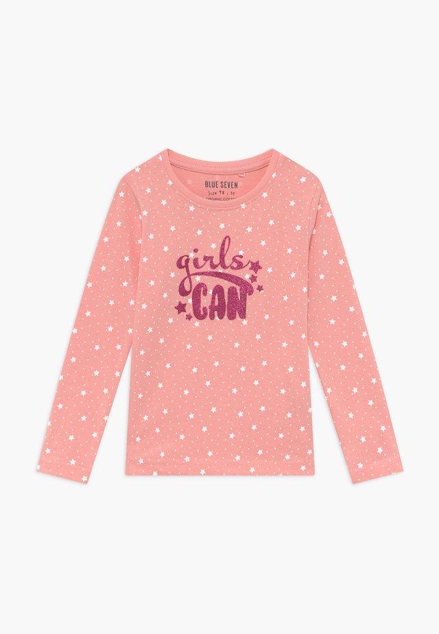 KIDS GIRLS CAN - Langarmshirt - flamingo
