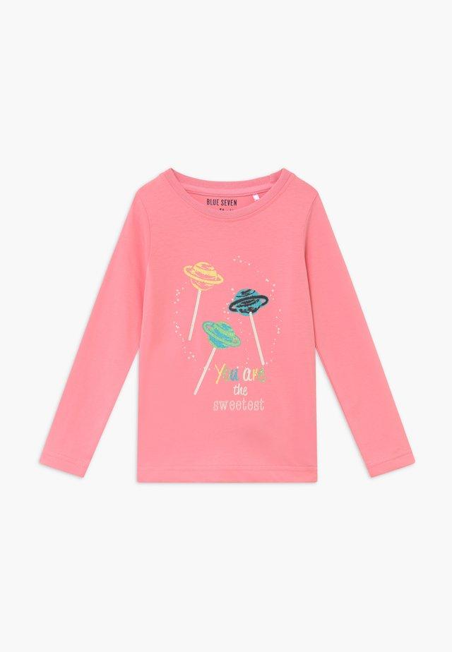 KIDS GLITTER STAR CAT MUFFIN - Långärmad tröja - pink