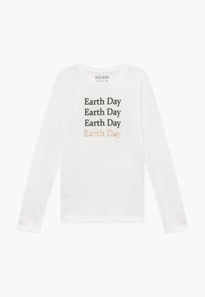 TEENS EARTH DAY - Langarmshirt - offwhite