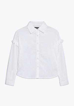 Overhemdblouse - weiss