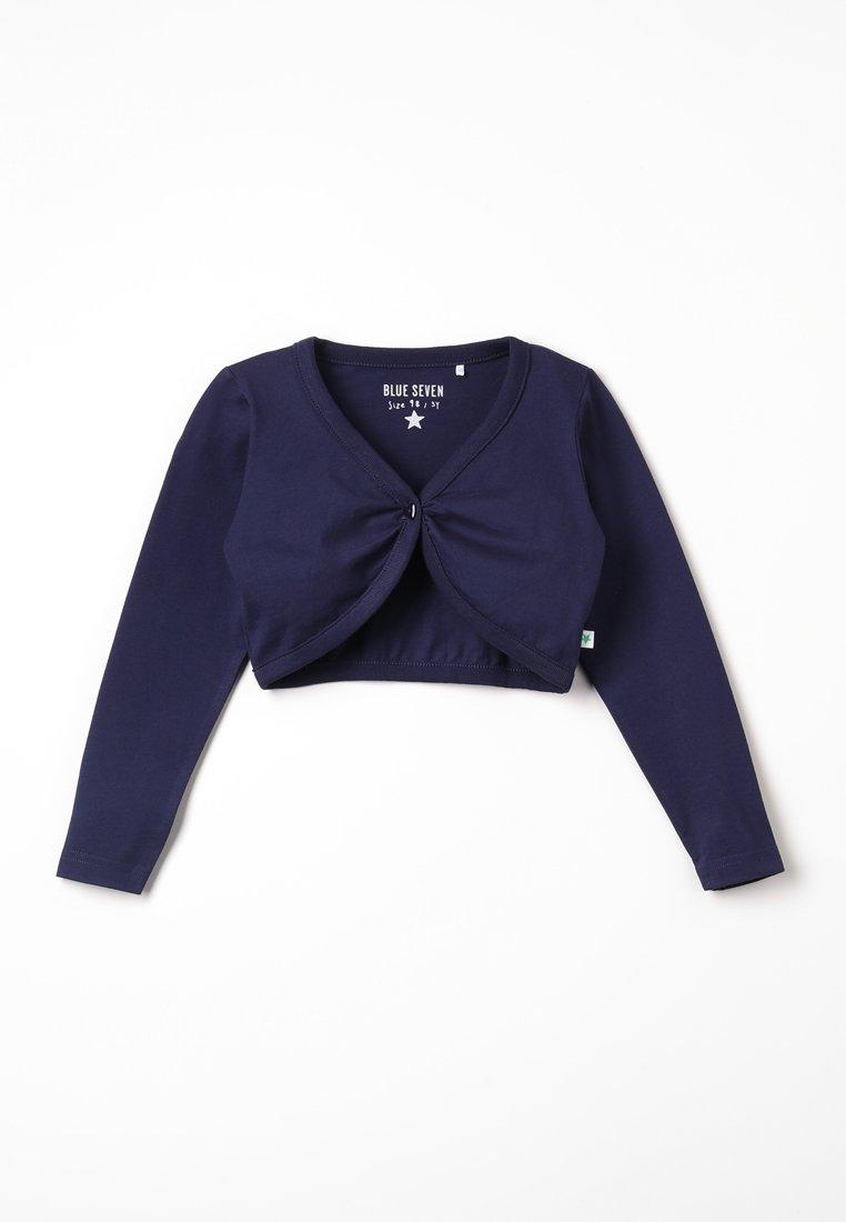 Blue Seven - BOLERO - Cardigan - nachtblau