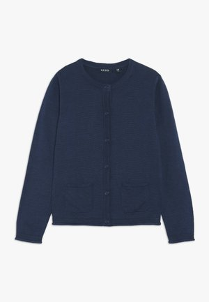 Strikjakke /Cardigans - blau
