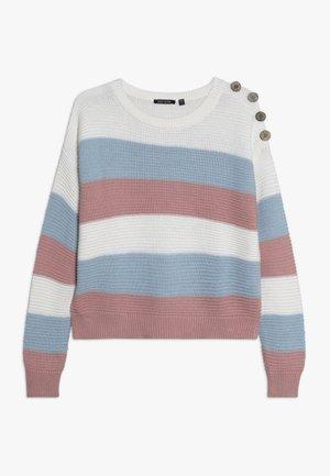 RUNDHALS - Pullover - rosa