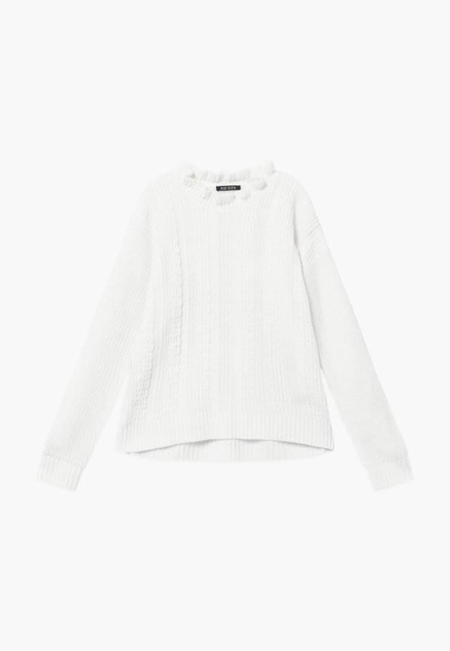 TEENS FRILL - Jumper - offwhite