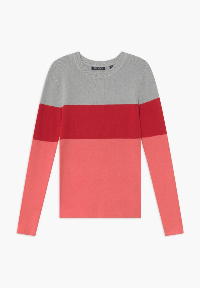 TEENS COLOURBLOCK JUMPER - Jumper - lachs