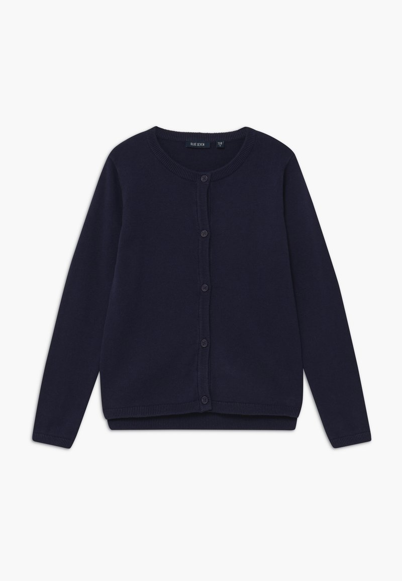 Blue Seven - KIDS BASIC  - Cardigan - nachtblau