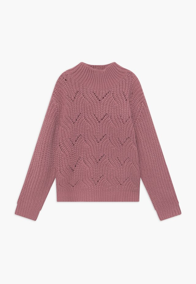 TEENS JUMPER - Strikkegenser - mauve