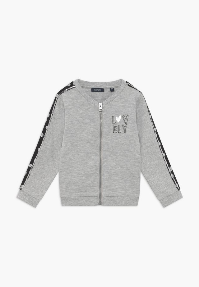 KIDS BUTTERFLIES - Zip-up hoodie - nebel