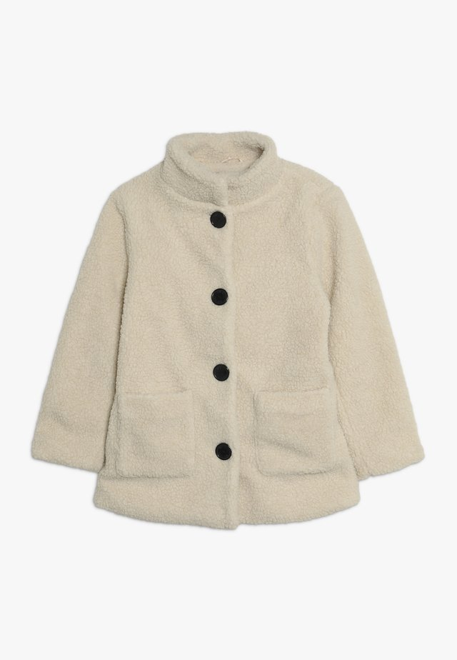 LONG  - Short coat - kiesel