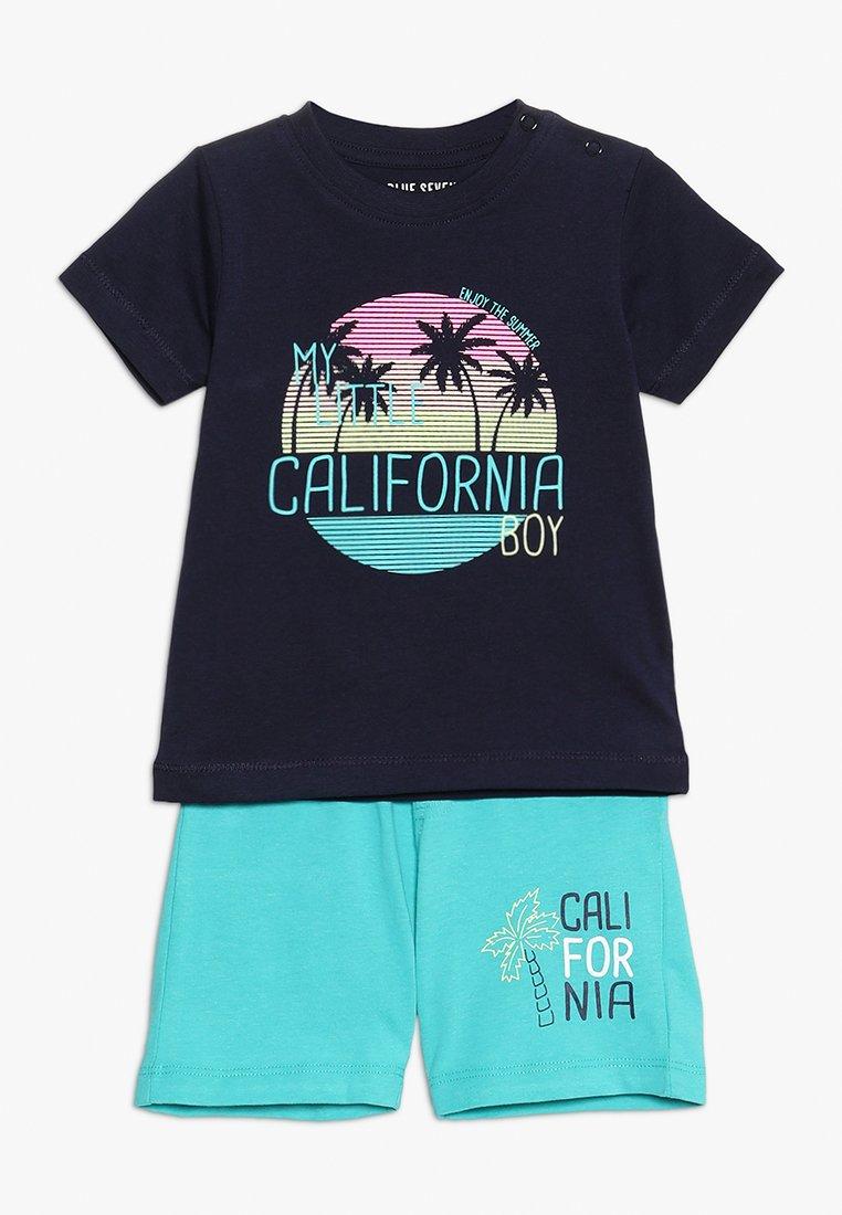 Blue Seven - MINI BABY SET - Shorts - nachtblau