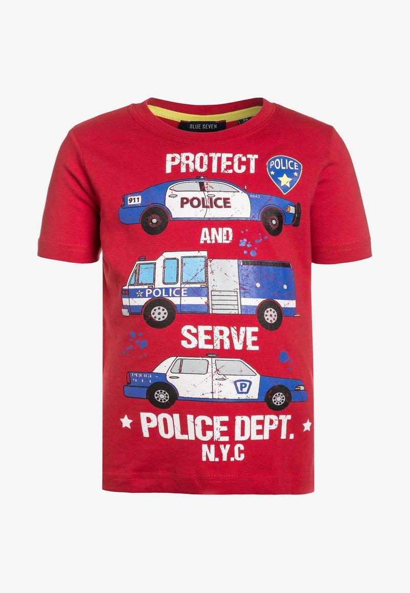 Blue Seven - T-shirt print - rot