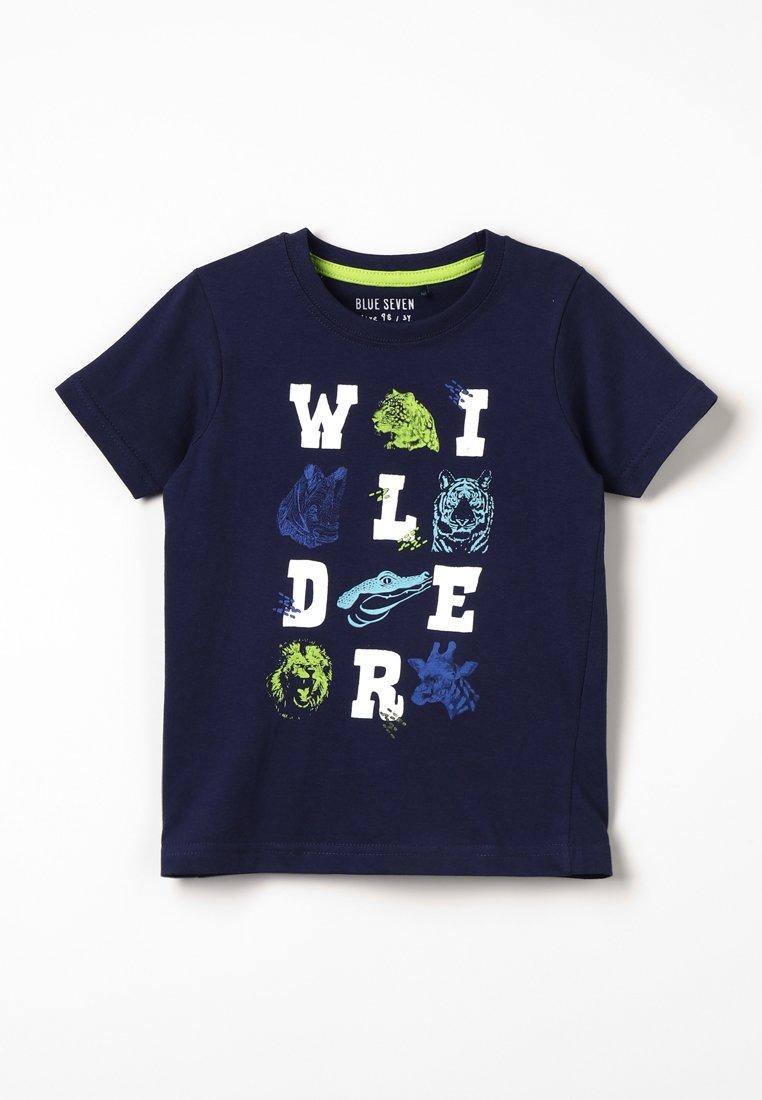 Blue Seven - T-shirts print - nacht blau