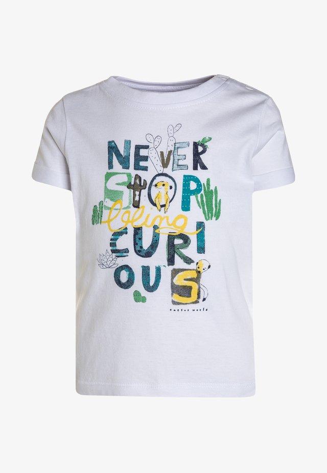 MINI BABY - Print T-shirt - weiß