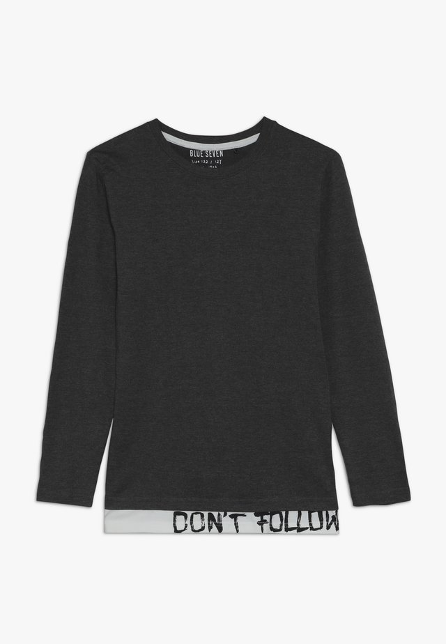 Long sleeved top - grau