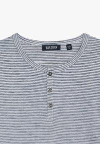 Blue Seven - HENLEY  - Long sleeved top - jeansblau - 4