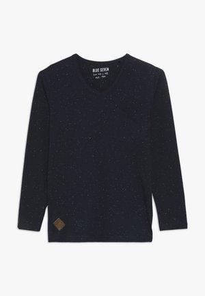 V-AUSSCHNITT - Long sleeved top - nachtblau