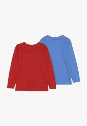 2 PACK - Longsleeve - rot/blau