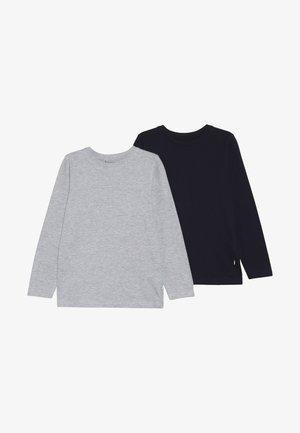 2 PACK - Pitkähihainen paita - nachtblau/nebel