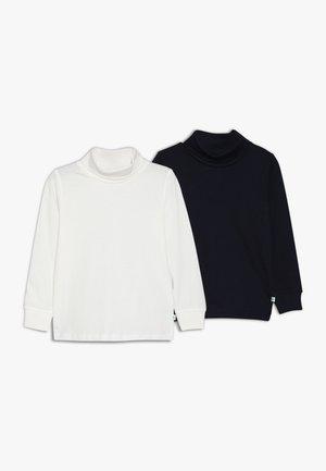ROLLKRAGEN 2 PACK - Langærmede T-shirts - offwhite/nachtblau