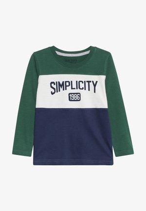 Langærmede T-shirts - dark blue orig