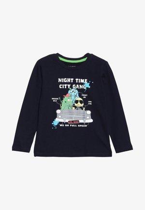 Langærmede T-shirts - nachtblau