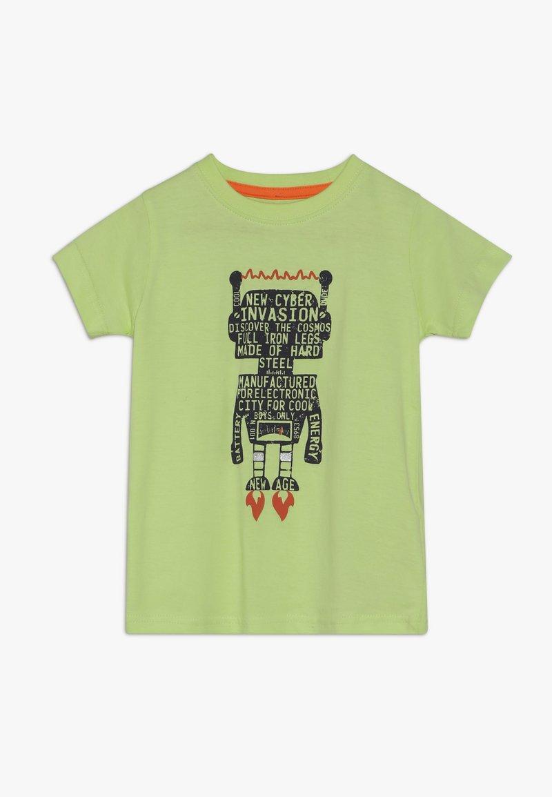 Blue Seven - Print T-shirt - apfel