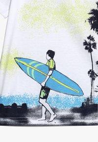 Blue Seven - Print T-shirt - weiss - 3