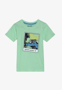 Blue Seven - Print T-shirt - hellgrün - 2