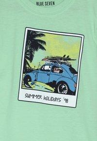 Blue Seven - Print T-shirt - hellgrün - 3