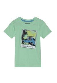 Blue Seven - Print T-shirt - hellgrün - 0