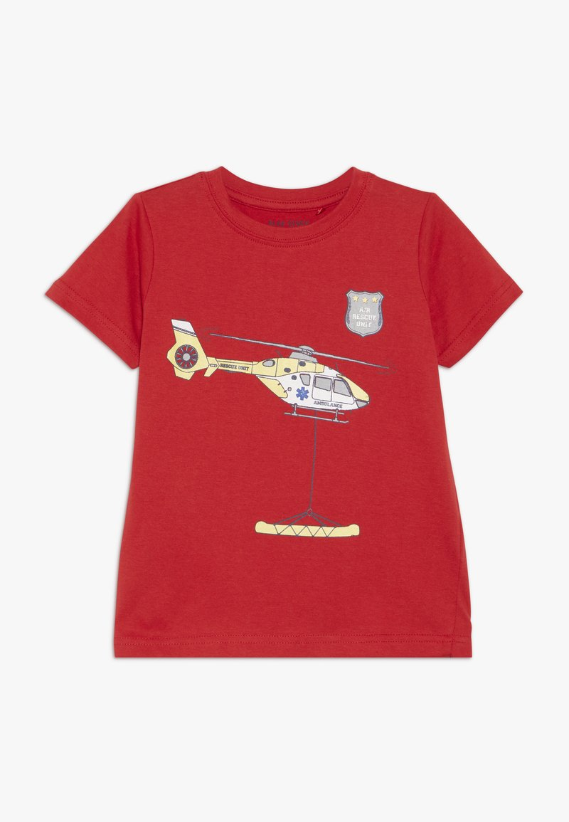 Blue Seven - Print T-shirt - rot