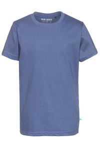 Blue Seven - 3 PACK - Basic T-shirt - weiß/jeansblau/orange - 3