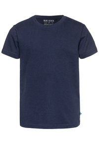 Blue Seven - 3 PACK - Basic T-shirt - weiß/dunkelblau/gelb - 3