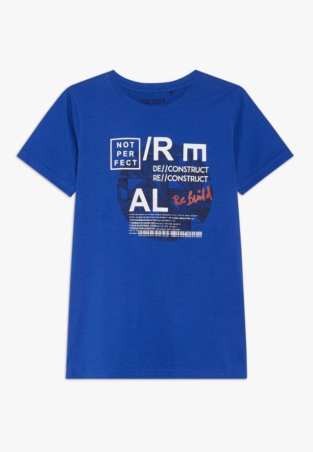 RUNDHALS - Camiseta estampada - royal