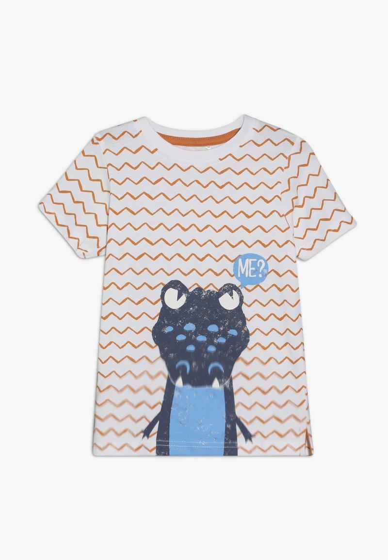 Blue Seven - T-shirt z nadrukiem - weiß