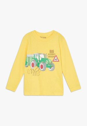 KIDS TRACTOR - Long sleeved top - gelb original