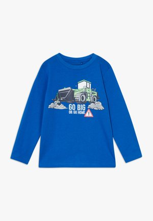 KIDS TRACTOR - Long sleeved top - royal original