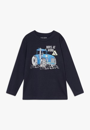 KIDS TRACTOR - Long sleeved top - nachtblau original