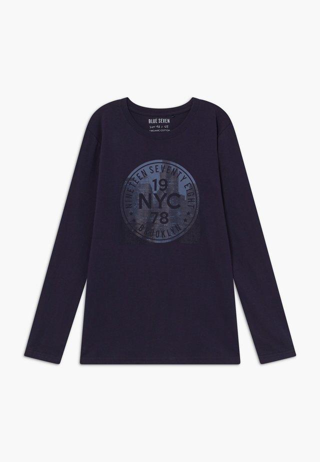 TEENS NEW YORK CITY  - Long sleeved top - nachtblau