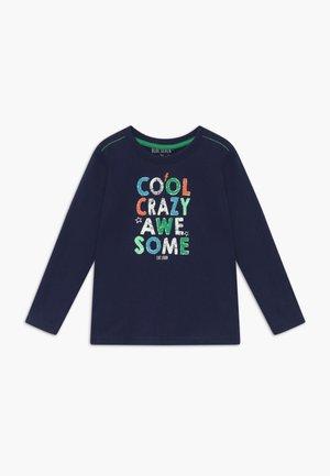 KIDS SHOE PRINT CRAZY - Long sleeved top - blau