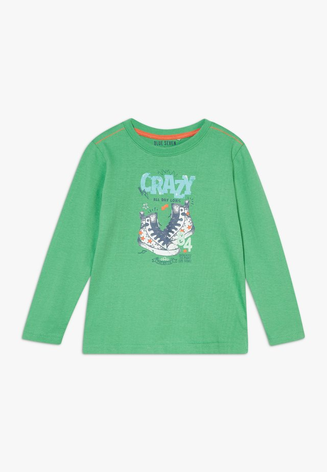 KIDS SHOE PRINT CRAZY - Long sleeved top - apfel original