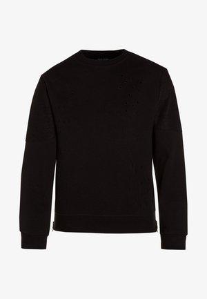 RUNDHALS - Sweater - schwarz
